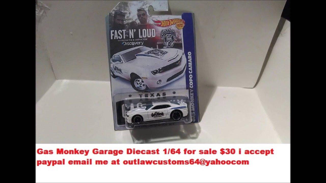 Gas Monkey Garage Hot Wheels Car For Sale
