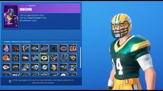 FORTNITE DAILY SHOP TODAY BACK - NFL Football Skins - 09/06/2019