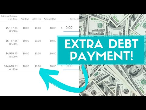 Bonus Debt Payment Thanks To YOUTUBE! | Pay Debt With Me | Student Loan Payment