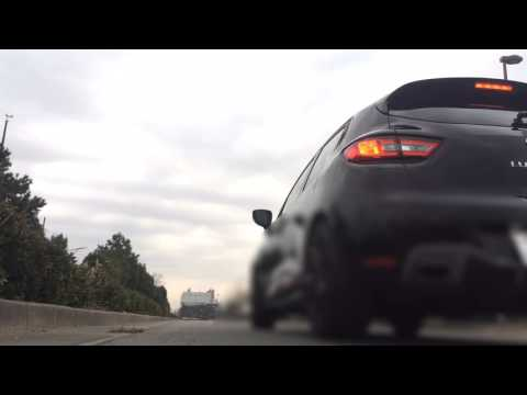 RENAULT CLIO(LUTECIA)4 RS 200 EDC Tuned EXHAUST SOUND - Acceleration & Launch Control