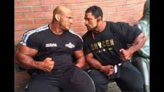 2018 Mr. Olympia - Roelly Winklaar vs Big Ramy Mass monsters   Two Biggest Bodybuilders On Stage
