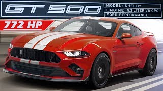 2019 Shelby GT500: ARRIVED FROM FORD! (Possible Specs & Bullitt)