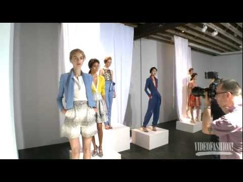 Wes Gordon - S/S 2012 - Videofashion