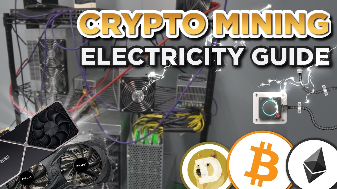 Bitcoin Crypto and GPU Mining Electricity Guide!