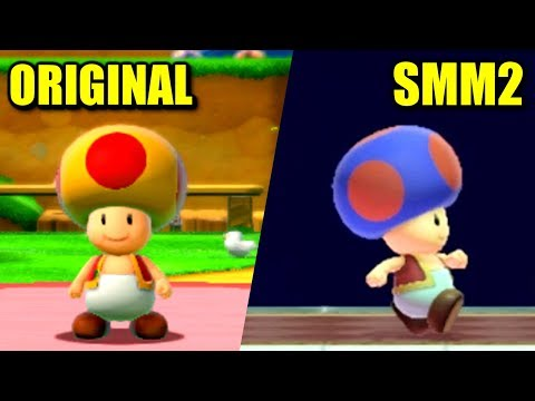 Super Mario Maker 2 vs. Super Mario 3D World - All Differences