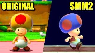 Super Mario Maker 2 vs. Super Mario 3D World - All Differences