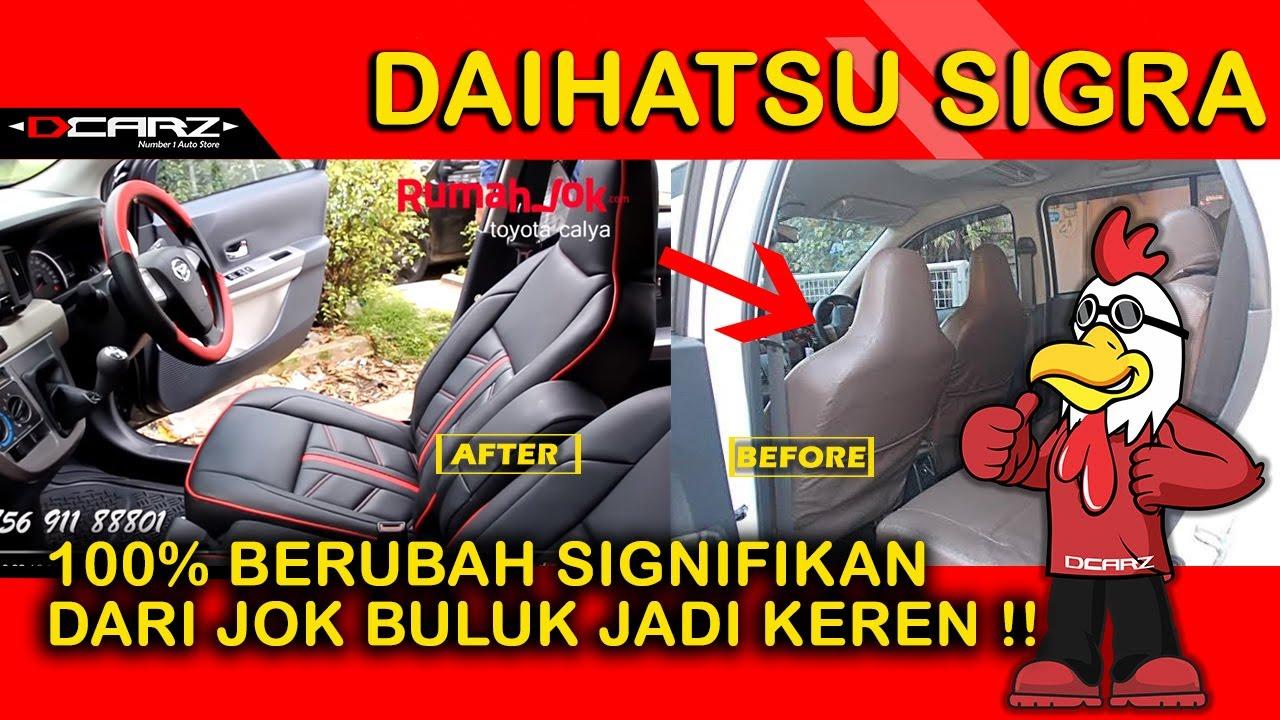 Desain Jok Mobil Toyota Calya Bahan Kulit  Sarung Jok