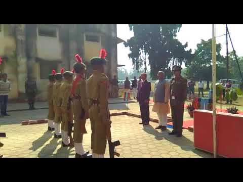 Guard of honour celebrating JAMSHEDPUR CO-OPERATIVE COLLEGE.