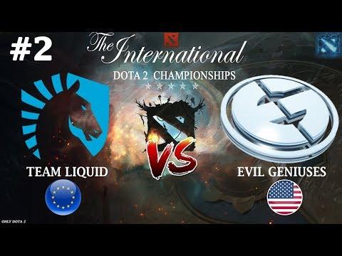 видео: ИСТОРИЧЕСКАЯ ХУ*НЯ! | liquid vs eg #2 (bo3) | the international 2018