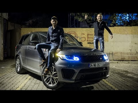 Range Rover Sport SVR V LOG
