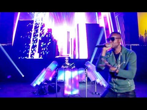 Tinie Tempah - Girls Like (AFISHAL EDM Remix) LIVE at Wembley