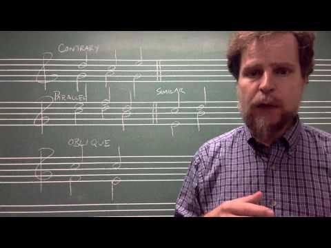 Voice-leading Basics lecture 1