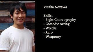 Yutaka Nozawa 2021 Action Demo Reel