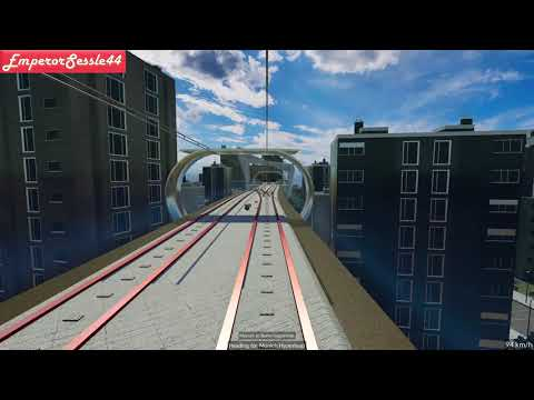 Hyperloop - Transport Fever - Over  500Kmh!!!  