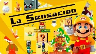 la sensacion super mario maker 1080p por mega gamestv