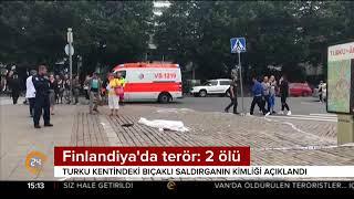 Finlandiya'da terör: 2 ölü