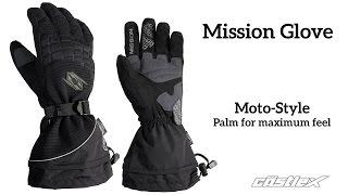 Castle X Mission Snowmobile Gloves