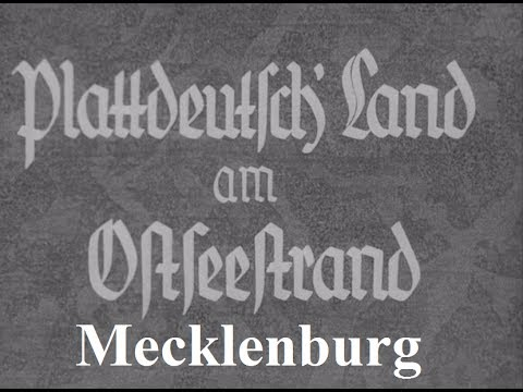 Plattdeutsches Land am Ostseestrand - Mecklenburg ca. 1935