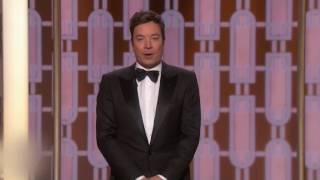 Jimmy Fallon Trashes Electoral College at Golden Globes