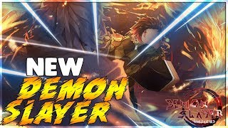 TRYING OUT A NEW ROBLOX DEMON SLAYER GAME , DEMON SLAYER UNLEASHED!