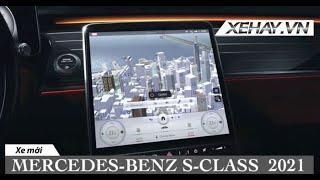 Mercedes-Benz S-Class 2021 hé lộ màn hình siêu to siêu khổng lồ |XEHAY.VN|