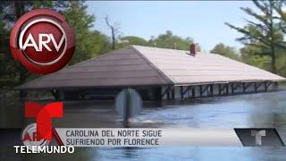 Carolina del Norte bajo el agua por Huracán Florence | Al Rojo Vivo | Telemundo