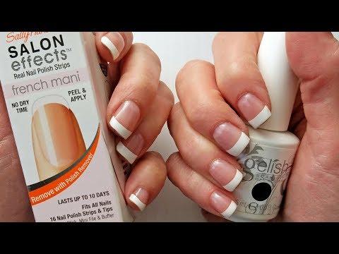 Easy DIY Gelish French Manicure