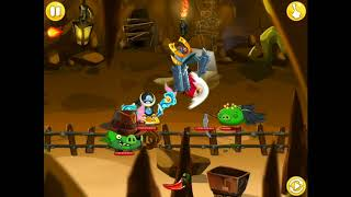 Angry birds Epic| Cave 21 boss fight first try