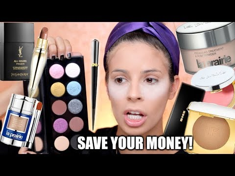 WORLDS MOST EXPENSIVE MAKEUP TESTED   HIT OR MISS??