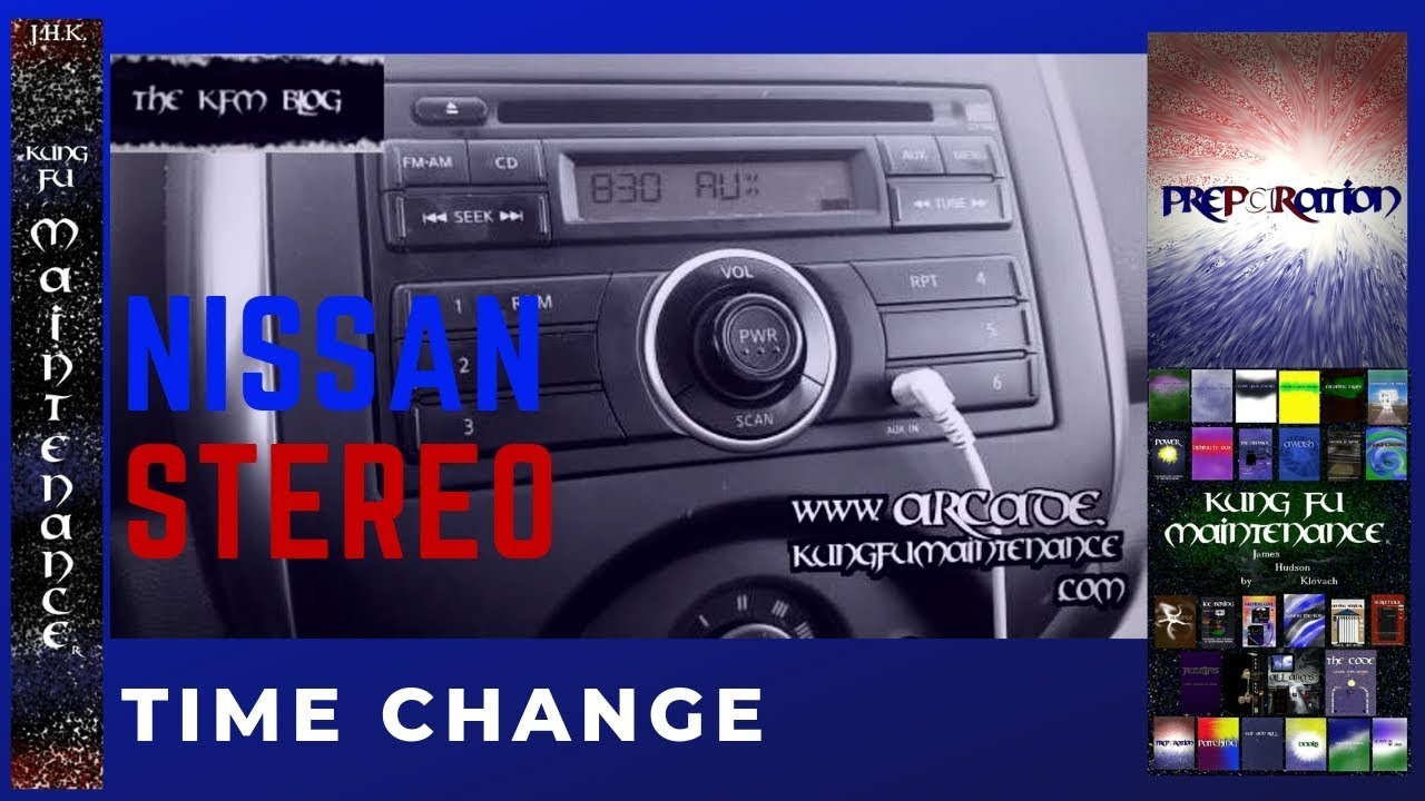 2013 Nissan Frontier Stereo Wiring How To Set Time Clock For Nissan Stock Car Stereo Ahead Or