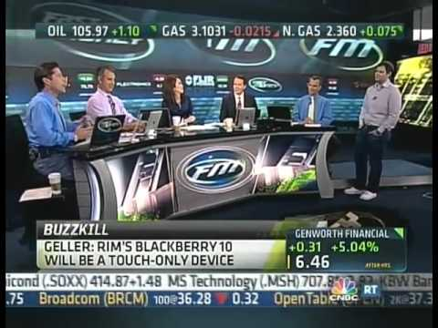 "Jonathan Geller of BGR.com Discusses the Future of RIM and Blackberry on ""Fast Money"""