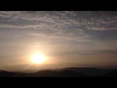Рассвет в Армении.