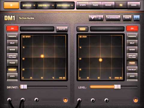 DM1 the Drum Machine App Preview