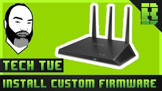 Netgear Nighthawk R7000 Firmware Upgrade From Original To Tomato Wireless Gaming Router Wifi