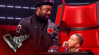 will.i.am Meets His Biggest Little Fan | The Voice UK 2017