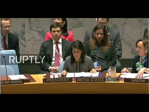 LIVE: UN Security Council votes on alleged Syria gas attack probe