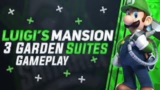 Luigi's Mansion 3 Garden Suites Nintendo Switch Gameplay