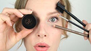 Basics: Natürliche Augenbrauen I 3 verschiedene Produkte I Tutorial I BeautyMakeupArt