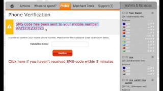 LavaPay.com - Click here if you haven't received SMS-code within 5 minutes