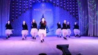 """GOLD STAR - """"Новогодний БУМ"""" Харьков 28.12.2014 - Старшая группа"""