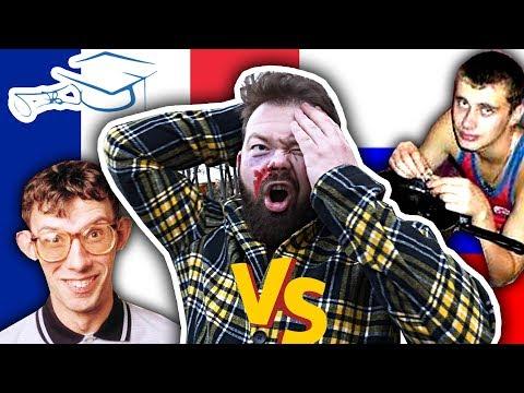 ÉTUDIANTS Français VS Russes - Daniil le Russe