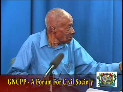 """GNCPP """"A FORUM FOR CIVIL SOCIETY"""" CONVERSATION ON  THE GUYANA  CONSTITUTION VTS01_3"""