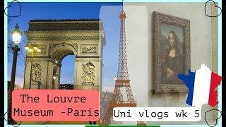 LOUVRE MUSEUM and Premiere Vision - Paris - Uni weekly vlog week 5