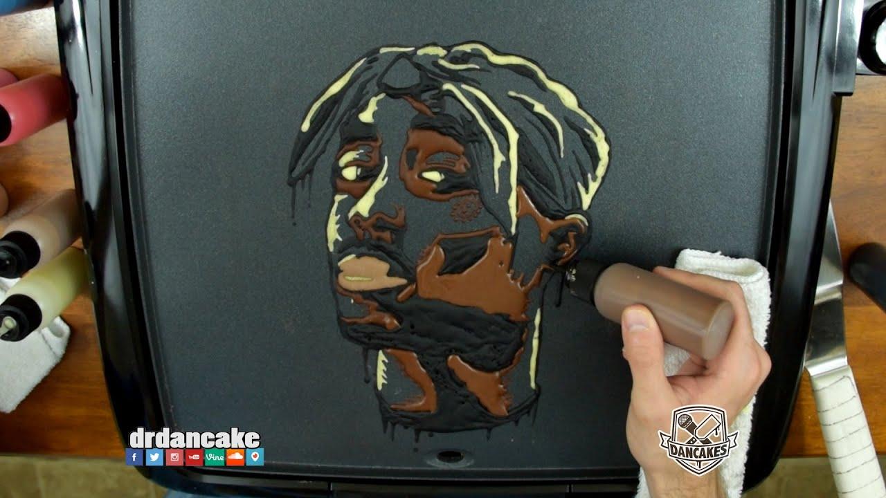 2pac Pancake Art Youtube