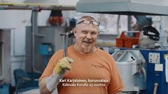 Kalevala Koru - Korunvalaja Kari Karjalainen