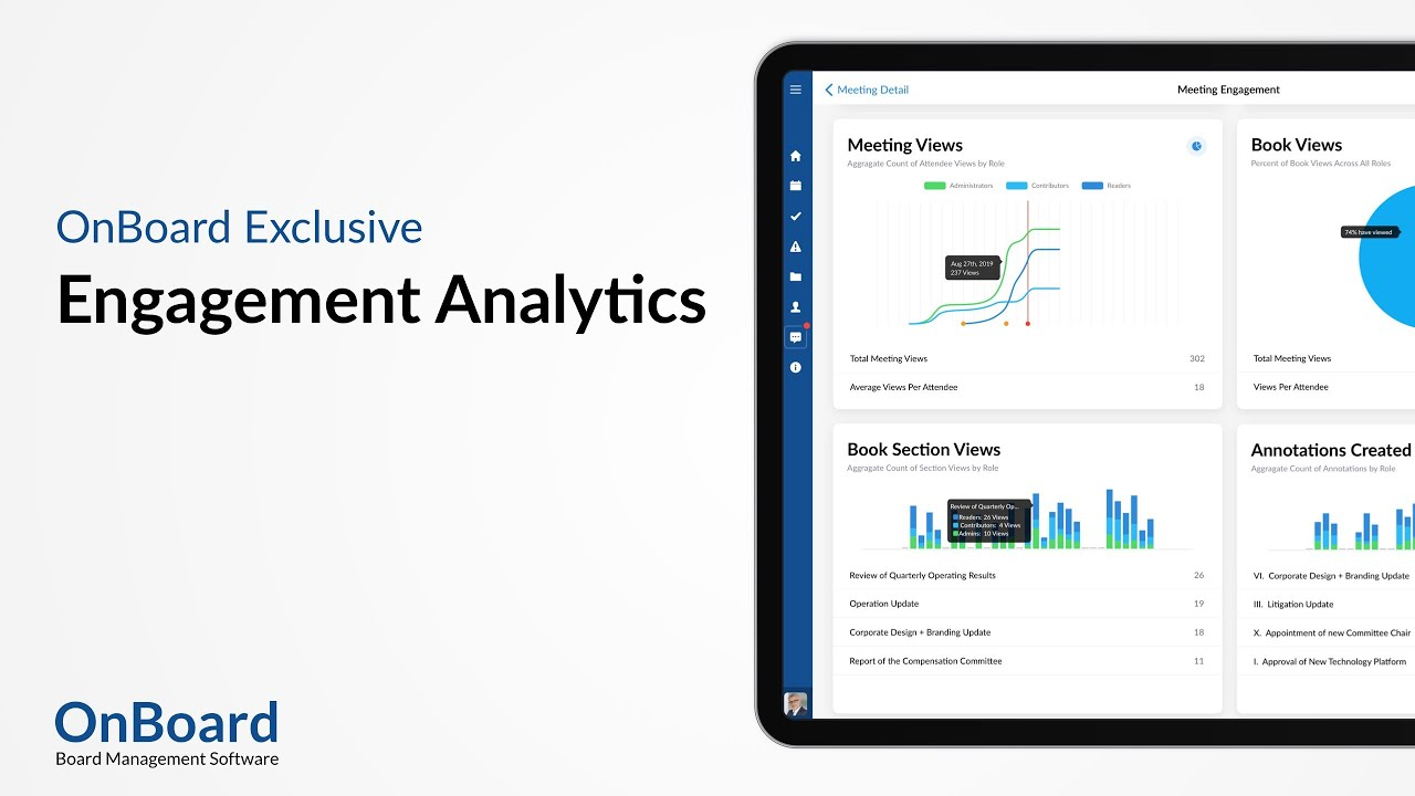 Engagement Analytics | Exclusively From OnBoard