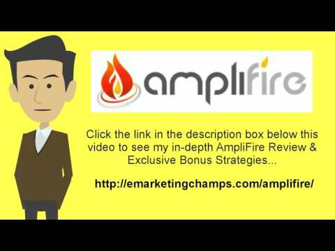 "[AmpliFire Review] Honest Review & Bonus Strategies: (AmpliFire Review) See honest review of AmpliFire, learn how it works & discover BONUS strategies:  http://emarketingchamps.com/amplifire/  ---------  Resist the Urge of Staying in the Comfort Zone  We all have a comfort zone and all of us are very fond of our personal comfort zone, so it is important to step out of the box and read a quality amplifire review page. It is very, very tempting to just stick with doing the things that we have always done and doing them in the same way we have always done them.   However, staying in your comfort zone and refusing to expand your mind and your horizons can cause you and your internet business to fail.   There is an old saying (probably made up by someone who was afraid of trying new things) that says, ""If it isn't broke, don't fix it."" Well, 'it' doesn't have to be broken in order to be improved upon whatever 'it' is.  Candle light wasn't broken but we are all glad that electricity was harnessed. Electric light is still light but it is certainly a big improvement over candle light. Which is why one should put together a nice amplifire bonus package to offer potential customers.   New ideas come along every day in the world of internet business. Some of those ideas are even good ones even if they do reside outside of our own personal comfort zone.   In order to continue to invest in yourself, you must be willing to leave your own comfort zone. Just because what has worked is still working it doesn't mean that there are not newer, better and more efficient ways of doing things.  Nobody is saying that new is always better. New is not always better but sometimes it is and the only way to tell which is which is by investigating new ideas yourself and then adapting the ones that can help you to your business.   Invest in yourself by increasing your knowledge and don't be afraid of trying new things and new ways of doing things. These things really are the secrets of success and not just in the world of internet business but in life itself.   AmpliFire Review - See honest review of AmpliFire, learn how it works & discover a unique Amplifire Bonus: https://www.youtube.com/watch?v=eZl4_j4F73M"