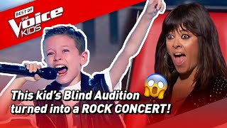 This little ROCKER went VIRAL with his Blind Audition in The Voice Kids Spain! 🤘  Road To
