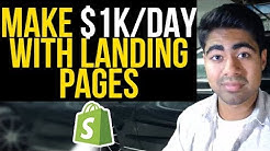 Highest Converting Landing Pages For $1K/Day | Complete Shopify Landing Page Tutorial
