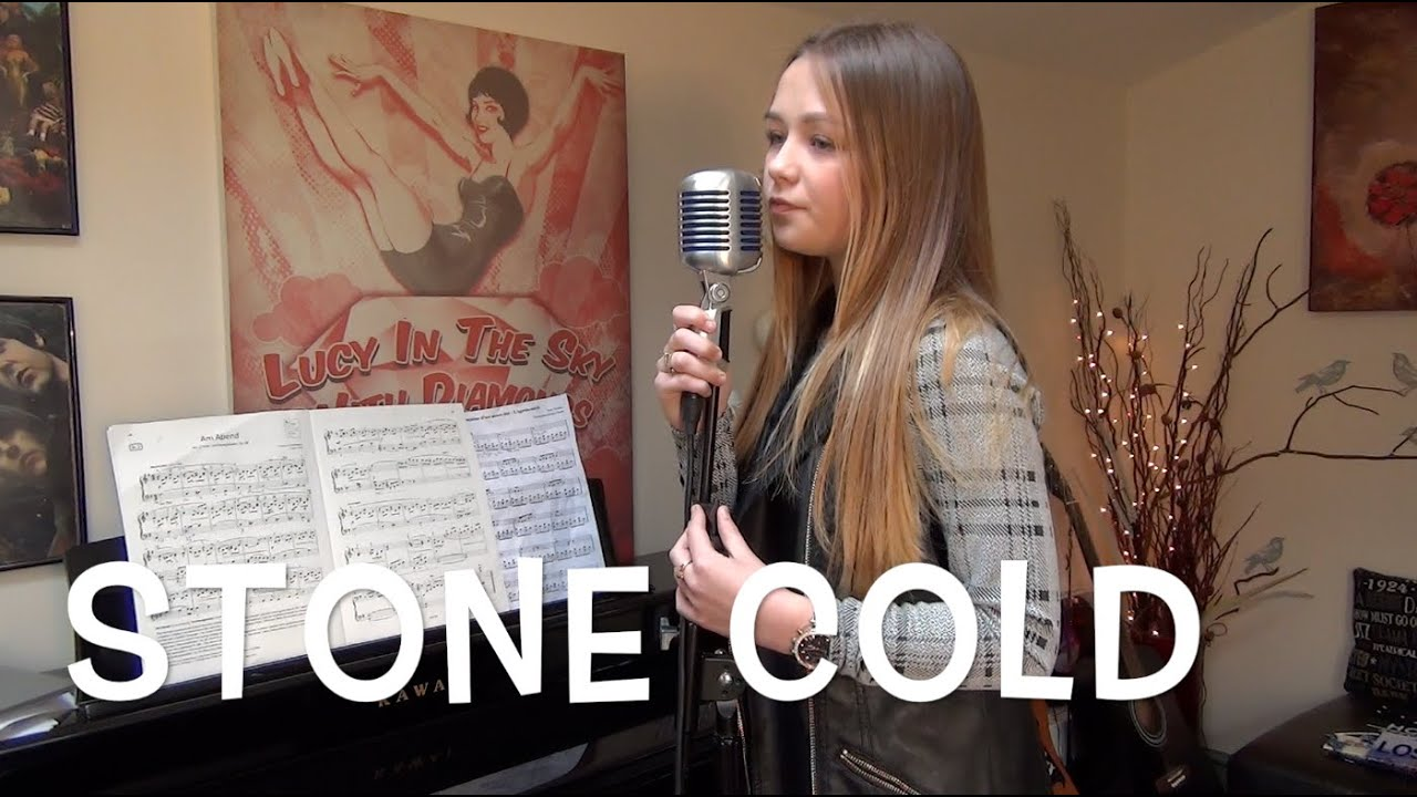 Stone Cold - Demi Lovato - Connie Talbot Cover - YouTube